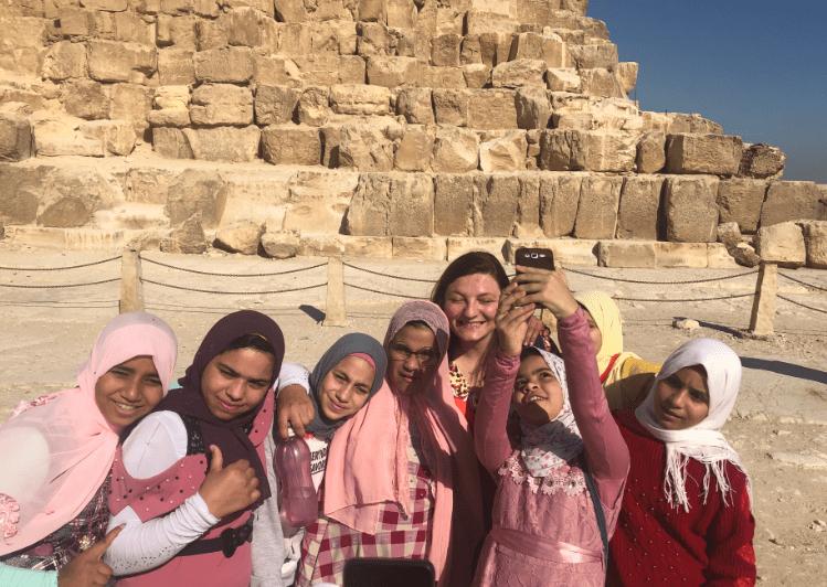 Crianças egípcias