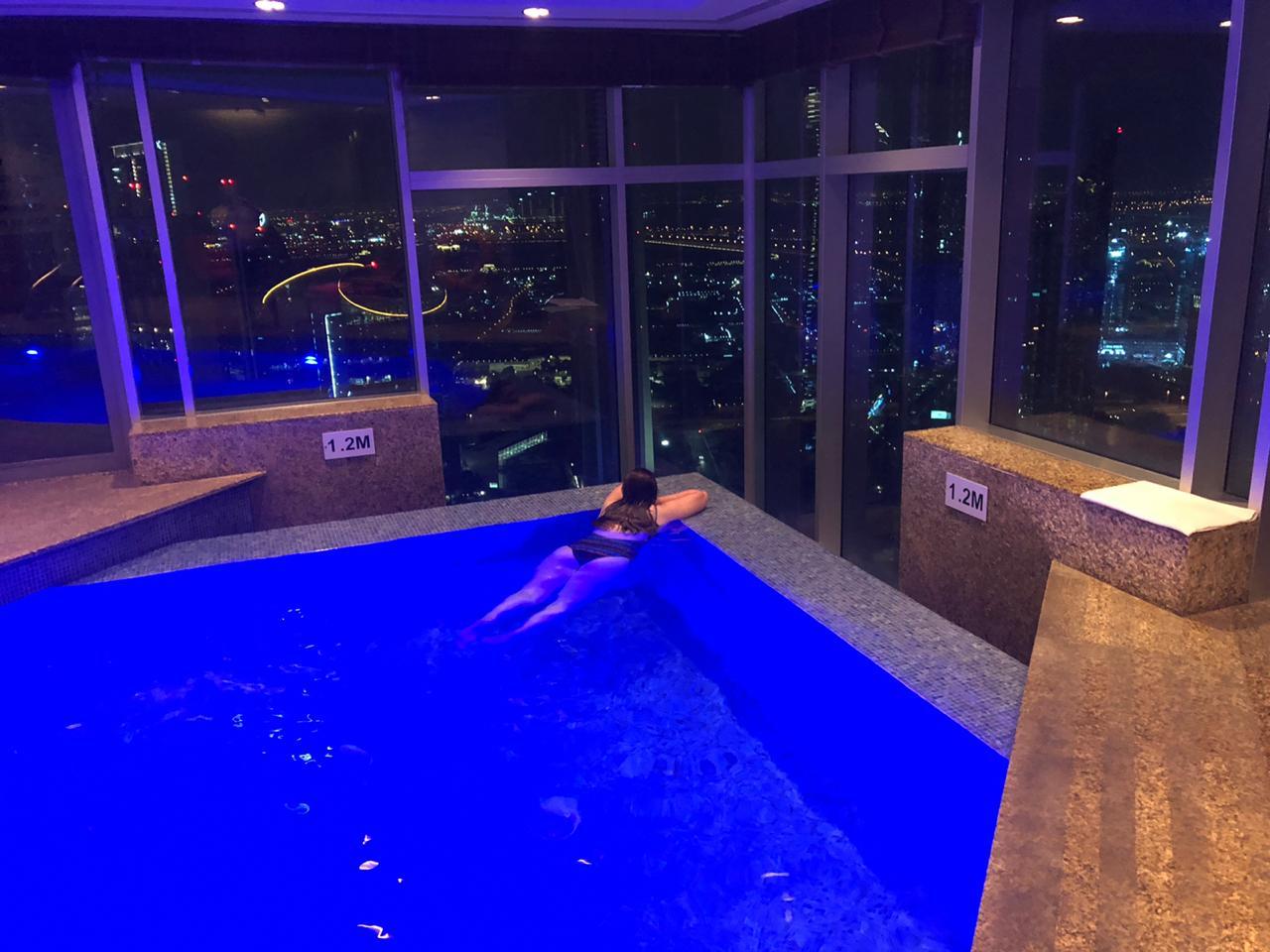 Piscina do Shangri-La em Dubai