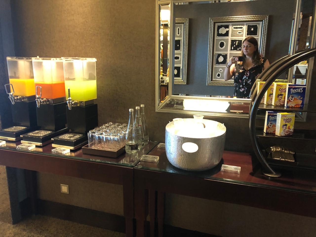 Bebidas em hotel 5 estrelas