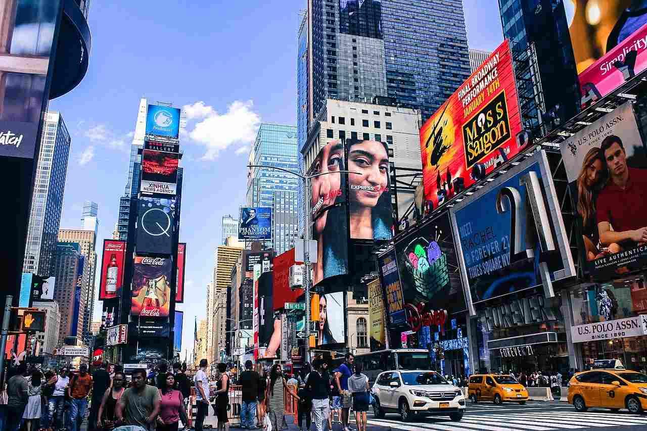 Seguro Viagem Estados Unidos Times Square