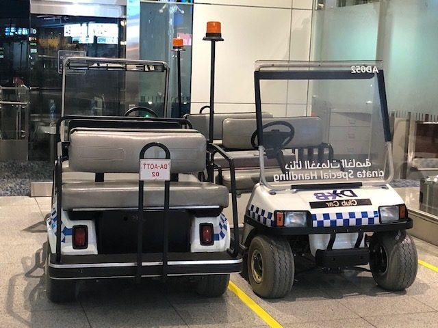 aeroporto de dubai taxis internos