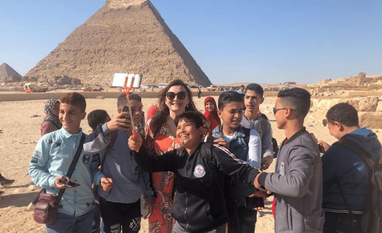 Crianças no Egito