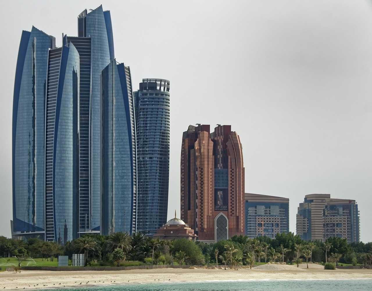 1 dia em Abu Dhabi - Etihad Towers