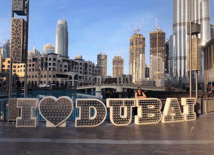 Crescimento de Dubai