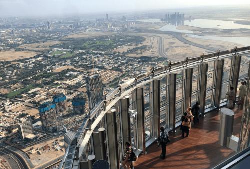 Vista do Burj Khalifa
