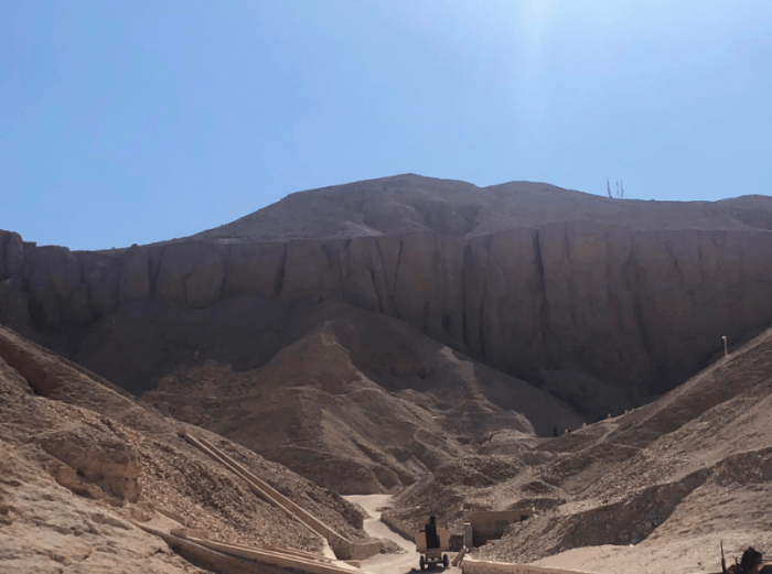 foto Vale do Reis Egito