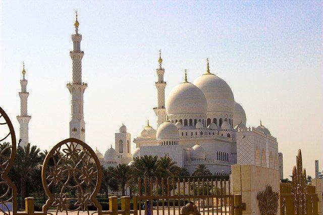foto da Mesquita do Xeque Zayed