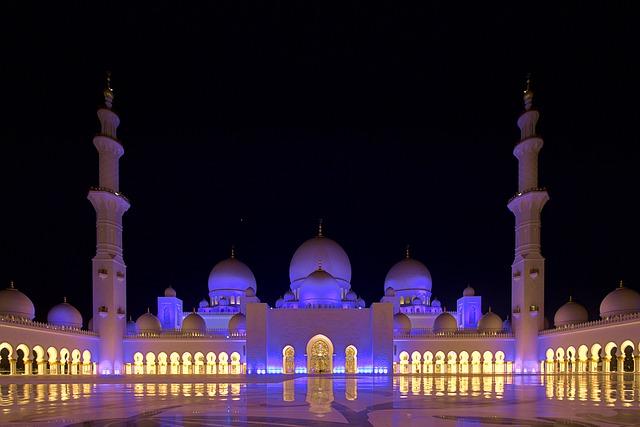 Abu Dhabi de noite