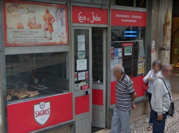 Restaurante Casa da Índia de Lisboa