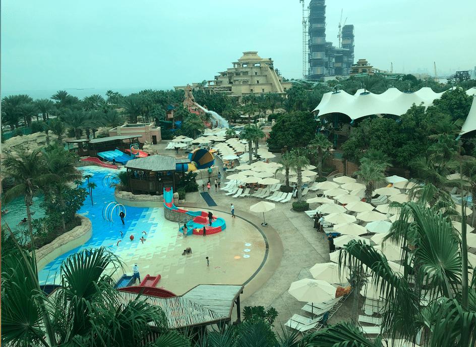 Parque aquático do Atlantis