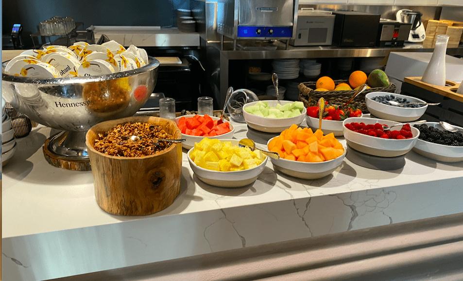 buffet do café da manhã no Cvltura