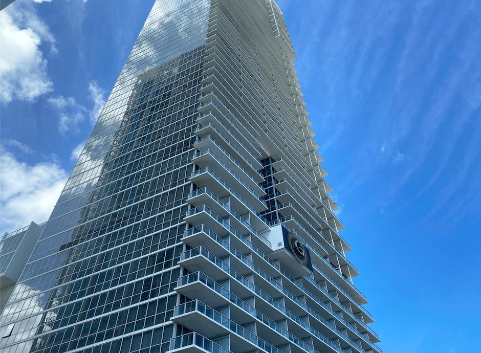 Prédio do The Gabriel em Miami
