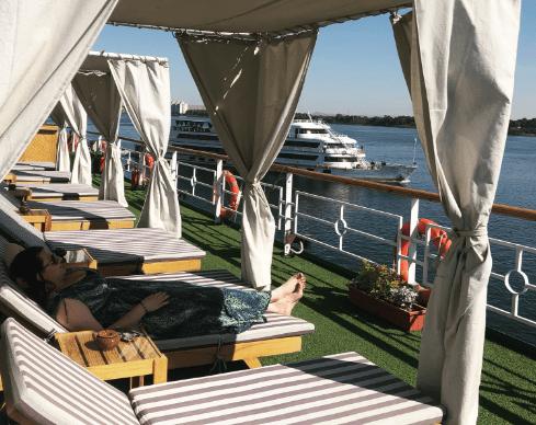 foto cruzeiro no Nilo