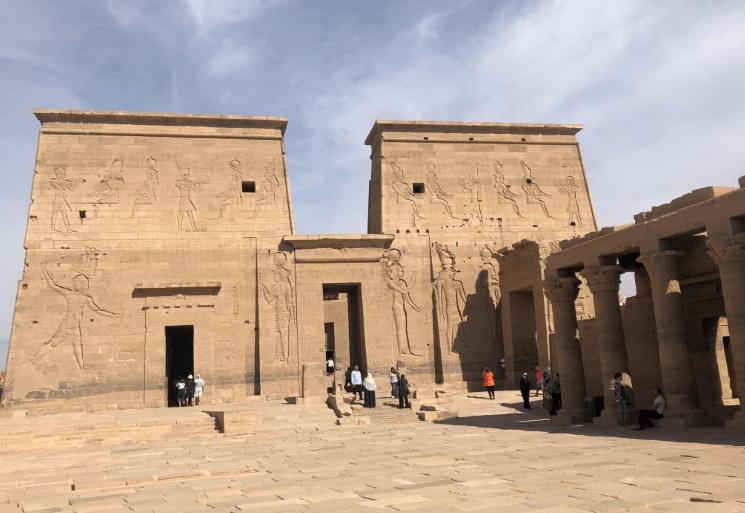 Frente do Templo de Philae