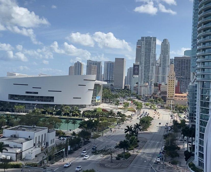 Vista do The Gabriel para Biscayne