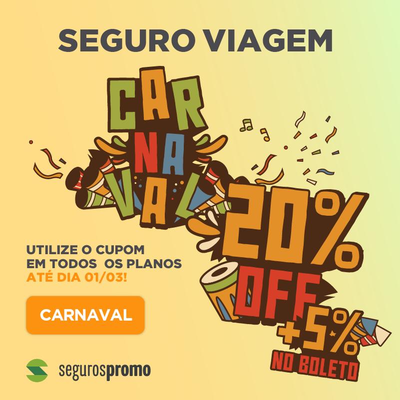 cupom carnaval