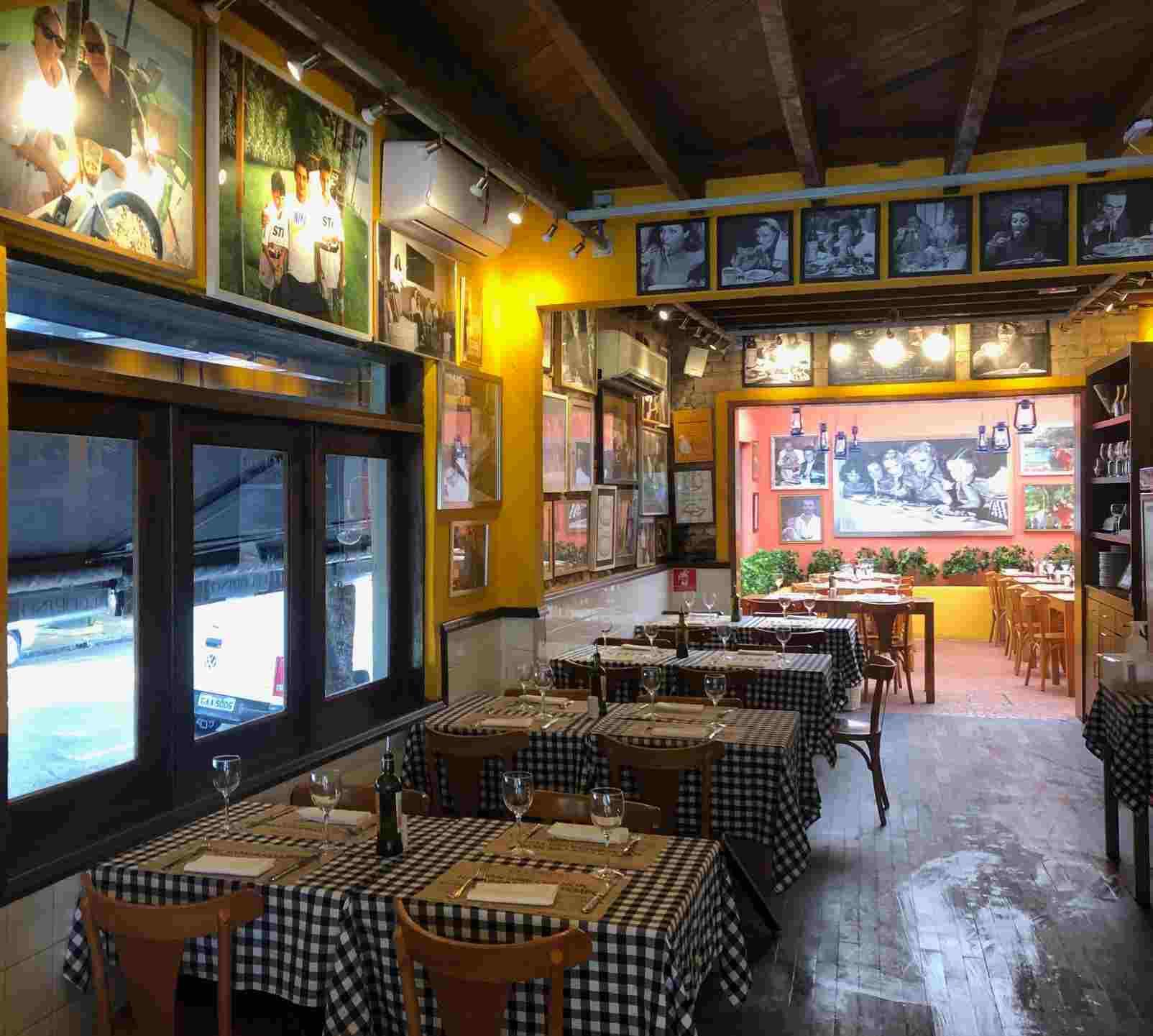 salão de refeições do Pecorino