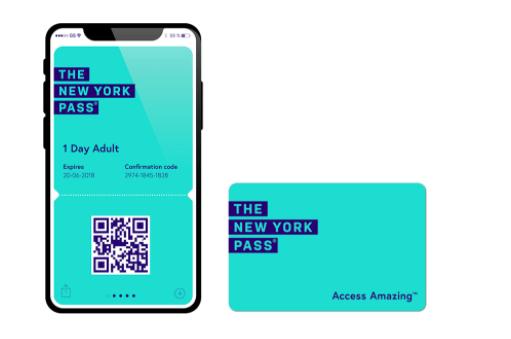 QR Code do New York Pass