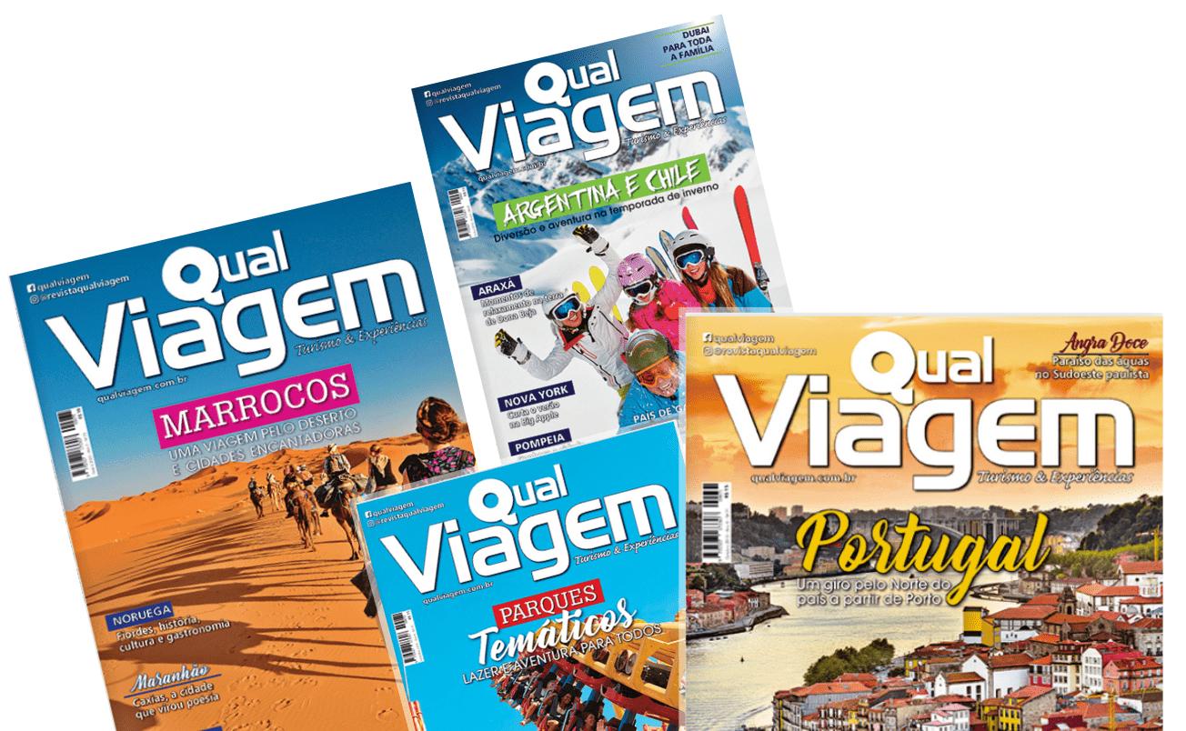 Capas da Revista Qual Viagem
