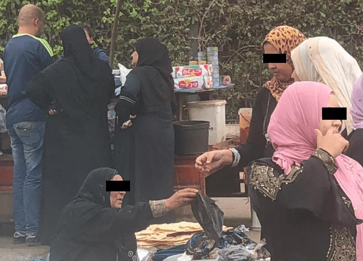 Como as mulheres se vestem no Egito