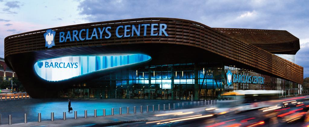 Barclays center no Brooklyn