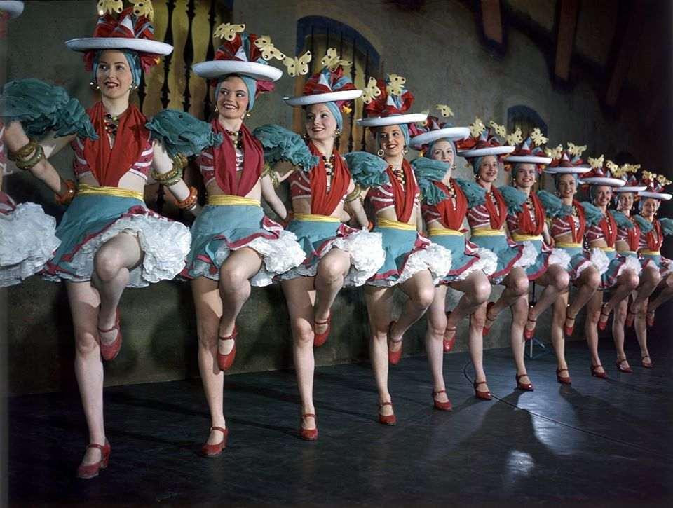 Bailarinas do Christmas Spectacular