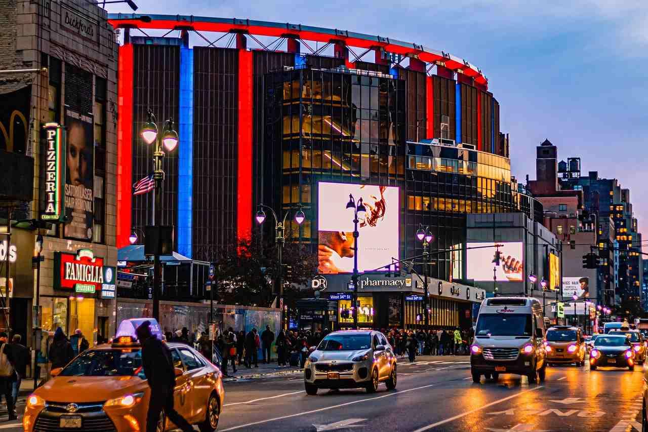 Fachada Madison Square Garden