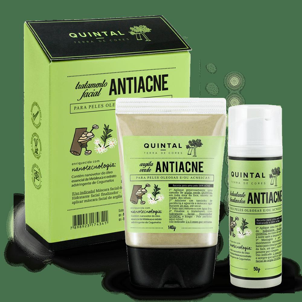 Quintal Dermocosméticos Kit Antiacne