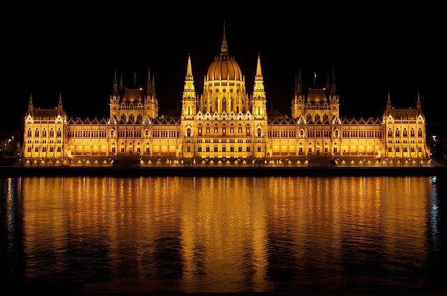 foto do Parlamento Húngaro