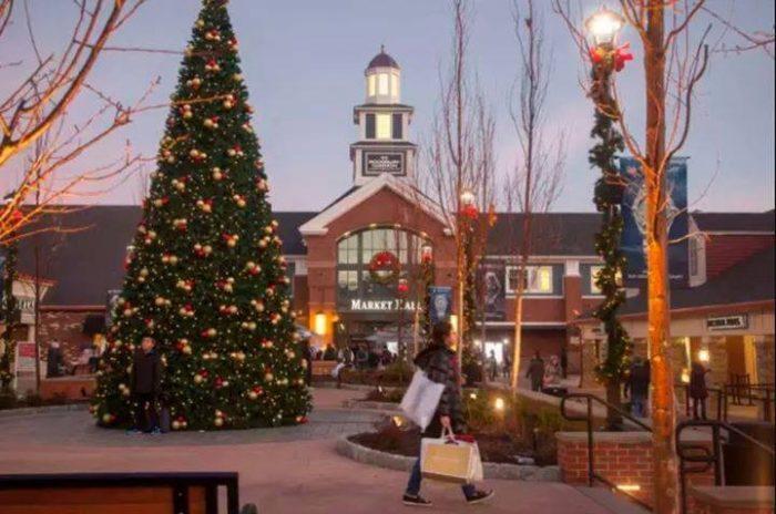 arredores de Nova York: Woodburry Premium Outlet no Natal