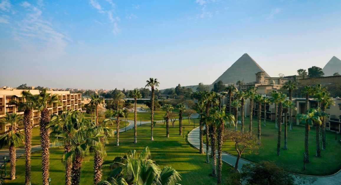 Hotéis incríveis: Mena House do Egito