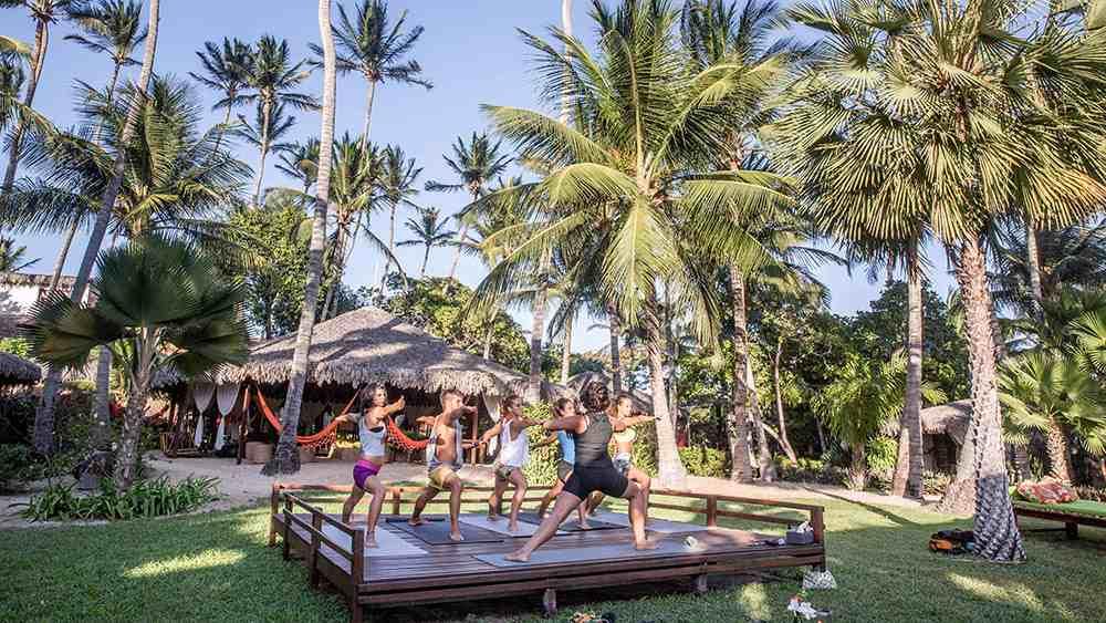 área do hotel vila kalango
