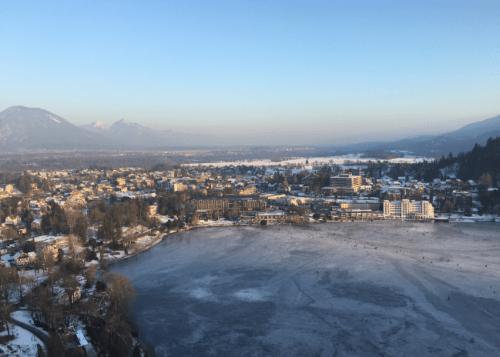 Vista do Lago de Bled