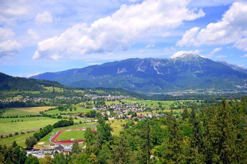 Bled é uma cidade pequena