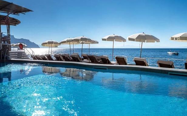 Hotel com piscina na Costa Amalfitana