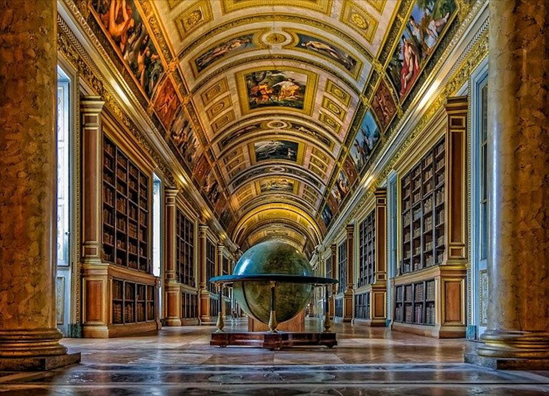 Interior do Castelo Fontainebleau