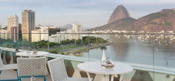 Vista do hotel Yoo2 Rio