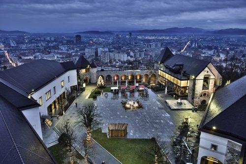 foto do Castelo de Liubliana