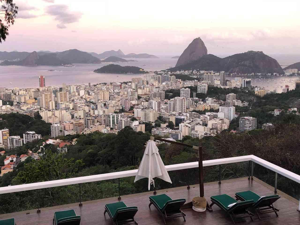 Hotel com vista para o mar no Rio de Janeiro