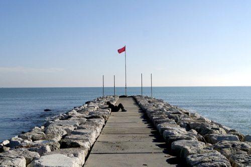 Mirante na Praia de Lido