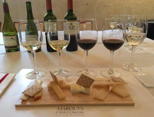 Vinhos da vinícola Concha y Toro