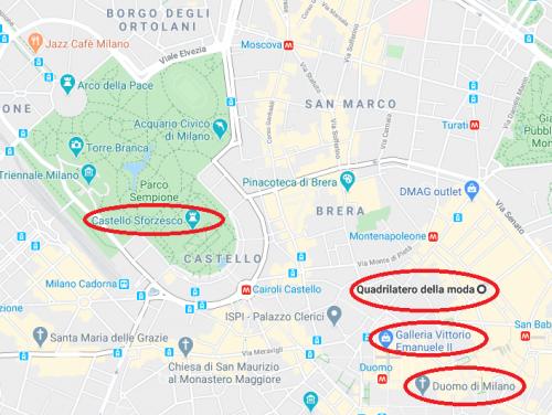 Centro histórico de Milão