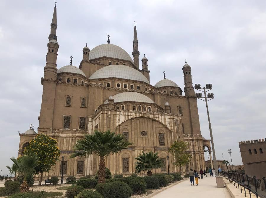 Mesquita de Muhammad Ali, no Cairo