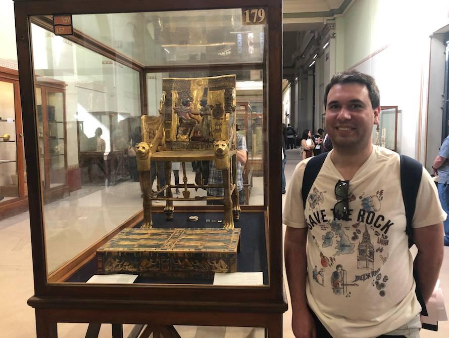 Cadeira de Tutankamon