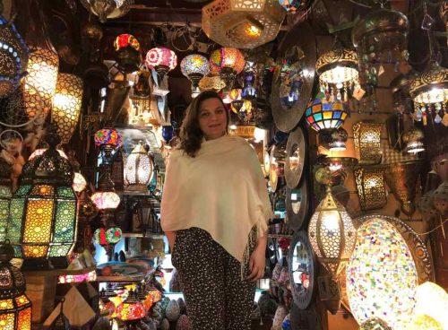 Compras no Egito