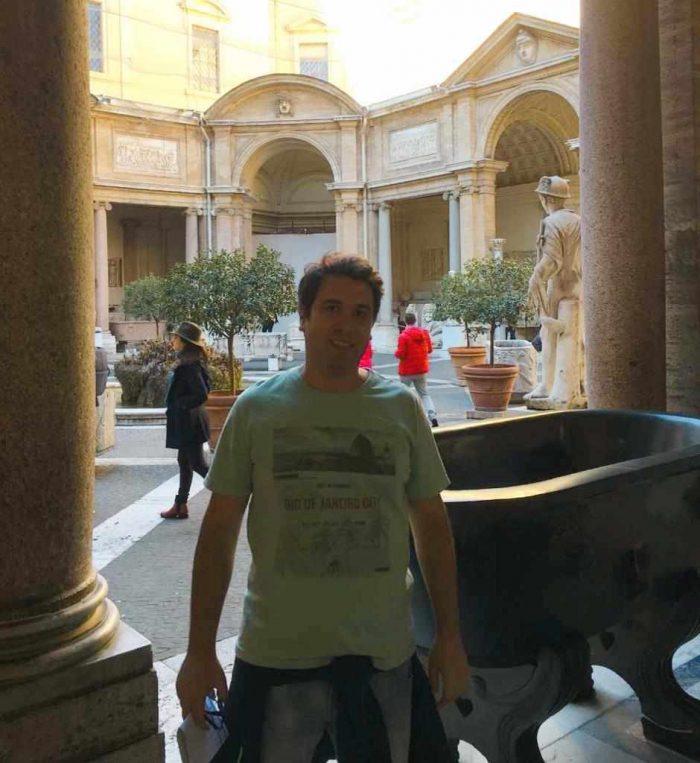 Visita ao Museu do Vaticano