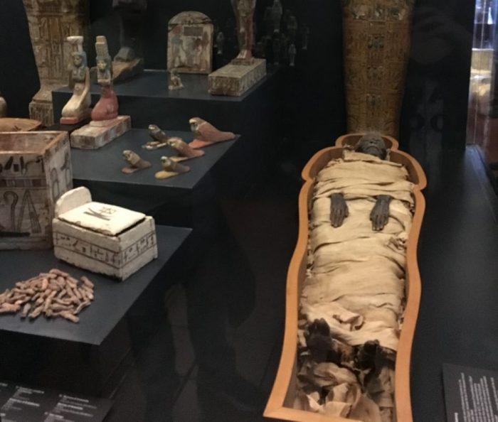 Área egípcia do Museu do Vaticano