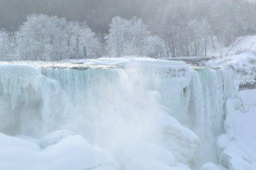 Niagara Falls congelada