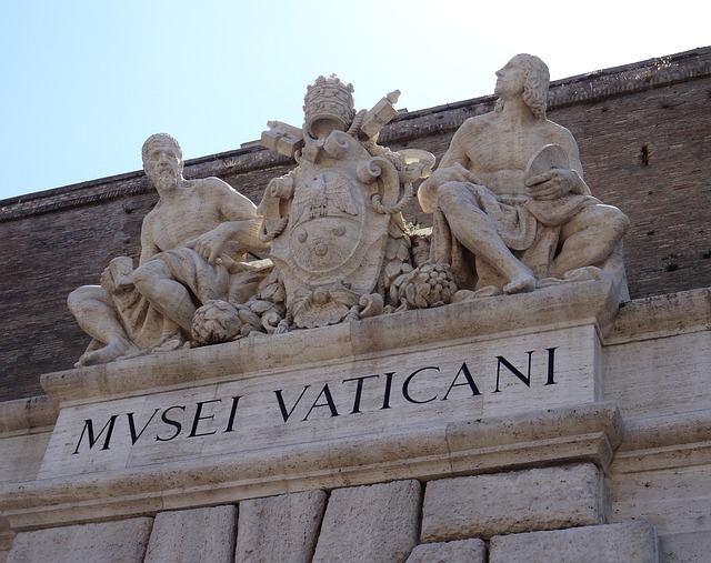 Entrada do Museu do Vaticano