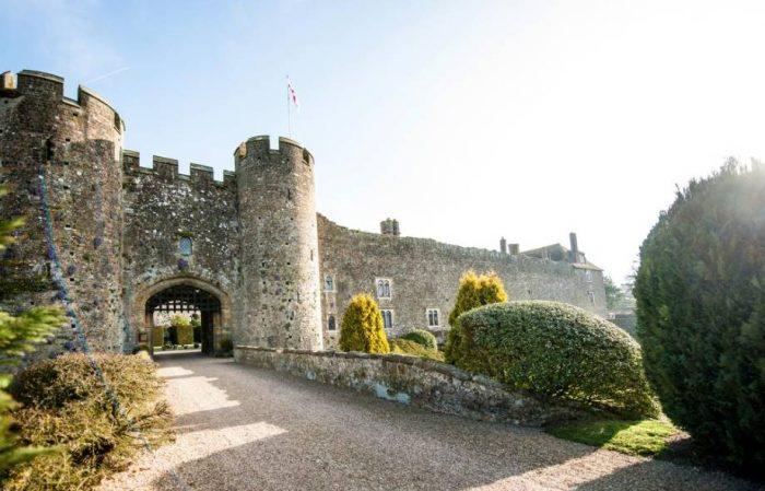 Entrada Amberley Castle
